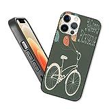 Compatible con iPhone 12 Series 2020 composición estilo retro con globos de...