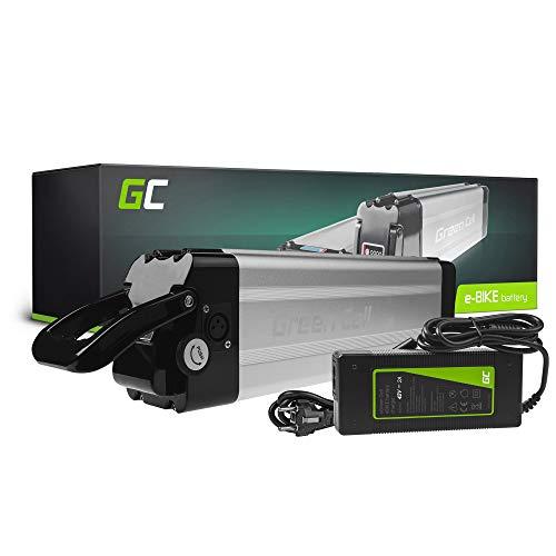 GC® Batería E-Bike 36V 11.6Ah Bicicleta Eléctrica Silverfish Li-Ion con Celdas Panasonic...