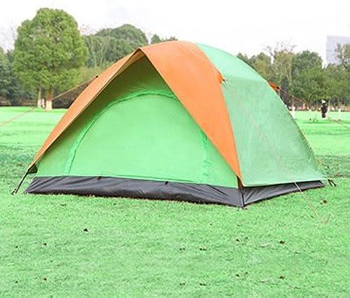 CBWZDJZDS Tente Extérieure à La Pluie pour Tente 3 Personnes Double Porte Double Porte Tente De Camping Tente De Camping Sauvage