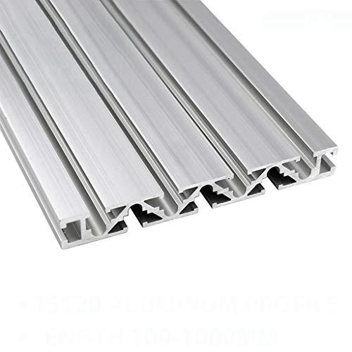 YDONGIIU CNC Linear Rail, Aluminum Profile Extrusion 100mm to 1000mm Length Anodized Linear Rail 15x120 mm for DIY 3D Printer Workbench CNC Parts (Size : 300mm)