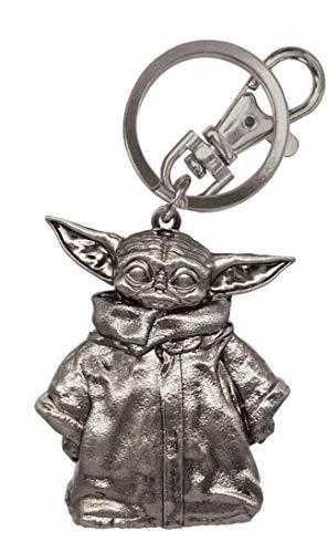 Star Wars The Mandalorian The Child Pewter Key Ring