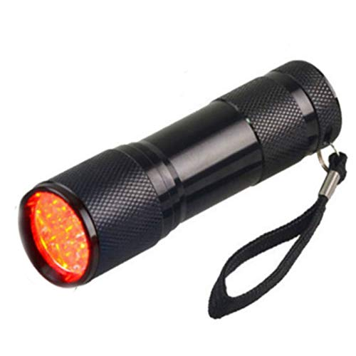 LIUHUAN LED Rote Taschenlampe Infrarot-Venenfinder-Viewer, Vein Finder Viewer Beleuchtungsvisualisierungslichter für Krankenschwestern Einfache Suche Nach Subkutanen Venen Gerät,Schwarz