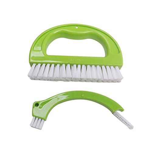 Icegrape Grout Brush Tegel Grout Cleaner Cleaning Tool voor douche, Vloeren, Badkamer, Raam Track en Keuken