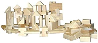 product image for Beka 06010 Little Builder 100 piece set Hard Maple Unit Blocks Hard Maple Unit Blocks