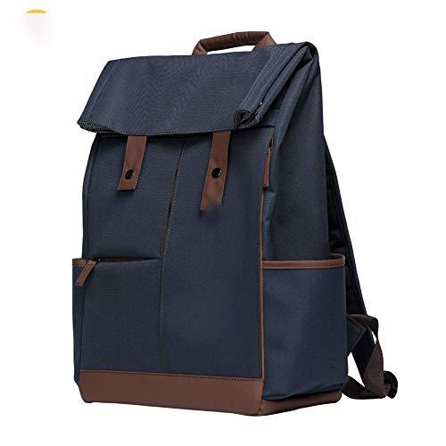 A-hyt Cómoda y cómoda mochila para ordenador portátil universitario con capacidad magnánima, mochila unisex de moda, bolsa de escuela de ordenador, fácil caminata (color azul oscuro, tamaño: XL)