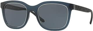 Burberry 19307231 Square Designer For Men Sungleasses Blue Size 54
