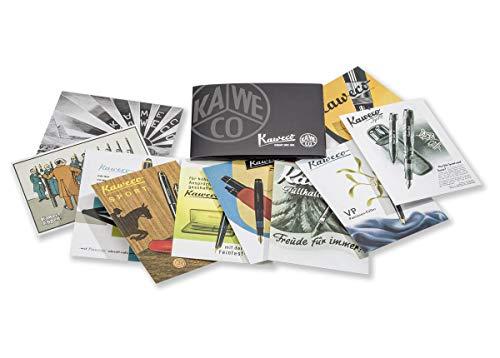 Kaweco, Juego de tarjetas postales históricas, publicidad histórica 10001580