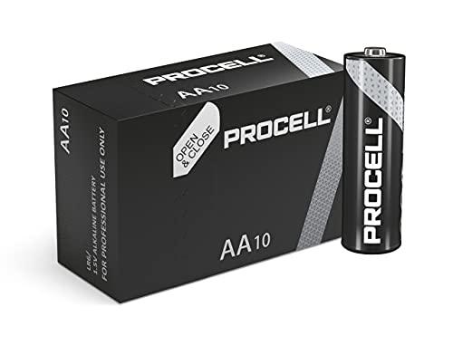 Duracell 20 x batterie AAA e 30 x batterie industriali AA, in sostituzione della batteia Procell, scadenza 2021