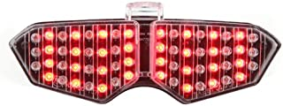 Integrated Sequential LED Tail Lights Clear Lens for 2003-2005 Yamaha YZF R6 / 2006-2009 R6S