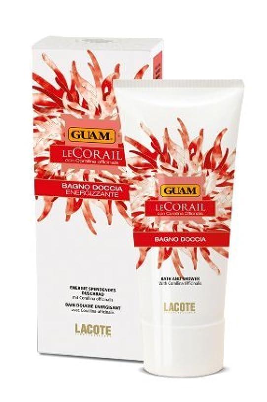 略奪数値壁GUAM Le Corail Shower Gel energizing 200 ml by Guam