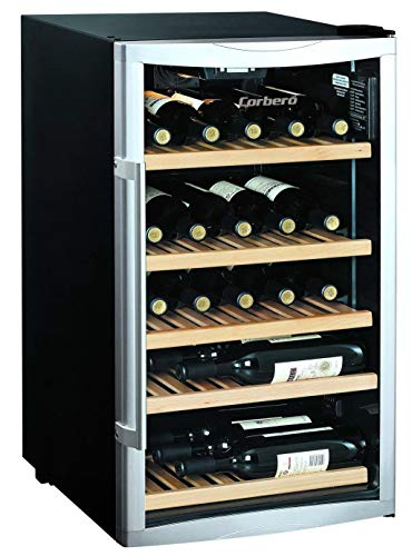 VINOTECA CORBERO CCFWWC309SWD 30 Botellas Negro B