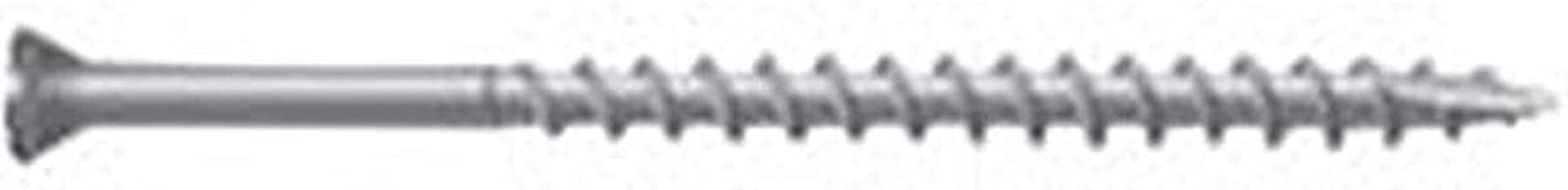 NATIONAL NAIL Camo 0353650S Deck Screw, NO 8 X 2-1/2 In, 316 Stainless Steel