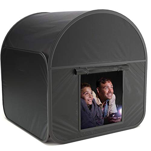 RH Trading 1 x Premium Extra Large Pop-up Sensory Den Blackout Tent for Autism, ASD & ADHD with Travel Carry Bag