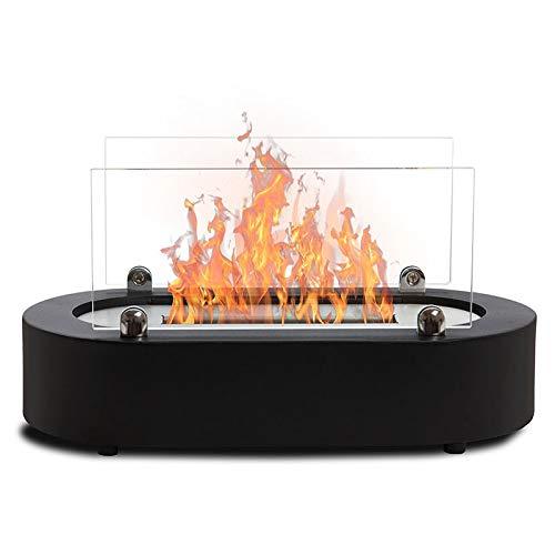 Wikao Naro - Noir, cheminée de Table (de Table,Mini poele Bio)