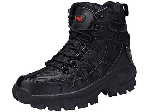 GJRRX Botas de Escalada para Hombre Botas Militares Tácticas Trekking Antideslizantes Resistentes Al Desgaste Zapatos para Hombres Actividades al Aire Libre 39-46