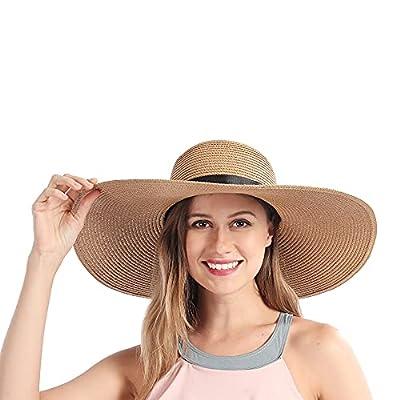 Sun Hat Straw Hats Women Summer Wide Brim Beach...