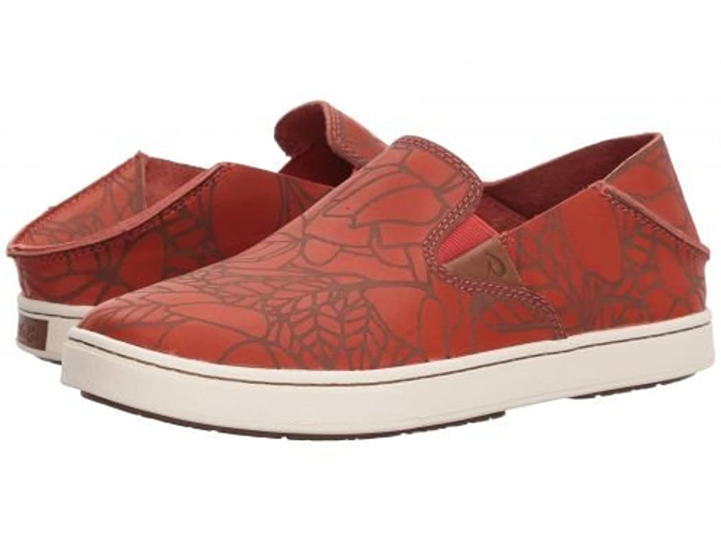モジュール失態流産Olukai(オルカイ) レディース 女性用 シューズ 靴 スニーカー 運動靴 Pehuea Lau - Paprika/Paprika [並行輸入品]