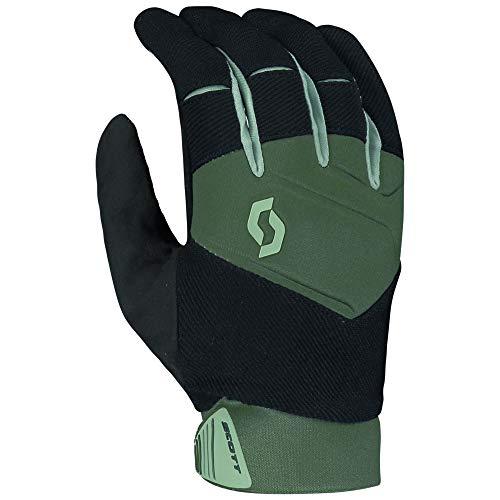 Scott Enduro 2021 - Guantes de ciclismo (talla S, 8), color verde y negro