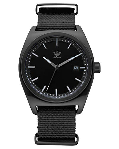 Adidas Herren Analog Quarz Smart Watch Armbanduhr mit Nylon Armband Z09-2341-00