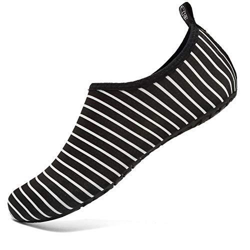VIFUUR Water Sports Unisex Shoes BlackStripes - 7.5-8.5 W US / 6-7 M US (38-39)