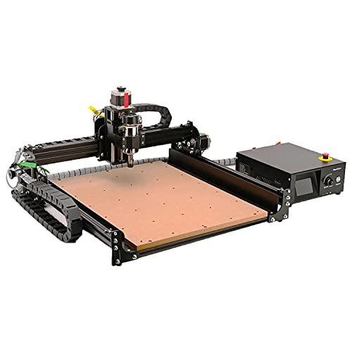 CNC Router Machine 4040-XE, 300W Spindle 3-Axis Engraving Milling Machine for Wood Metal Acrylic MDF Nylon Carving Cutting Arts and Crafts DIY Design