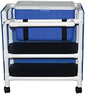 Hydration Cart with 48 Quart Ice Chest Color: Mauve, Cover Type: Vinyl