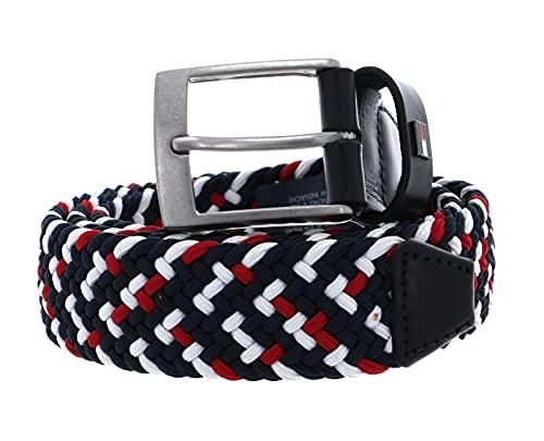Tommy Hilfiger Adan Braided Belt 3.5 W115 Corporate