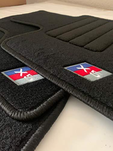 Accesorionline Juego Alfombras moqueta para BMW X5 a Medida para Todos los Modelos (X5 II 2008-2014 - E70)