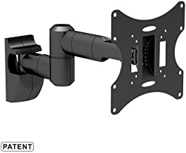 Articulating LCD LED Tv Wall Mount Bracket Full Motion Swivel 22 24 26 32 37 40 Great for Corners