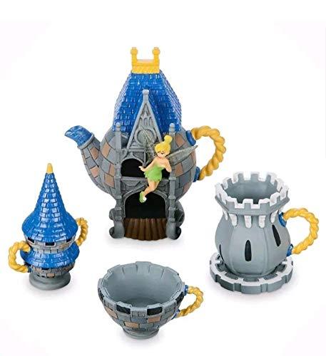 Disney Parks Walt Disney World Cinderella Castle Mini Tea Set Tinkerbell