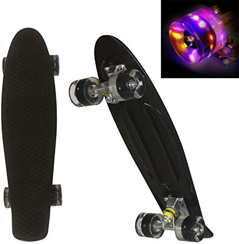 WeSkate Mini Cruiser Skateboard tabla completa retro 22