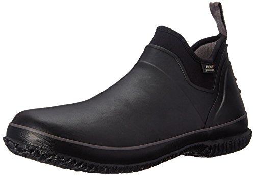 Bogs Men's Urban Farmer Low Waterproof Work Rain Boot, Black, 11 D(M) US