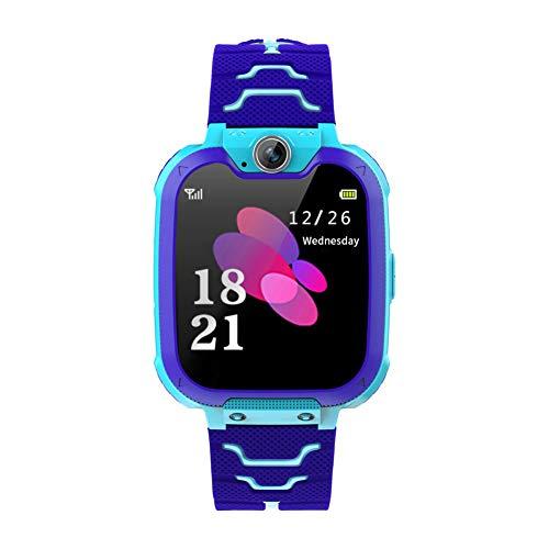 S11KIDS Smart Watch Teléfono con SOS One-Click para Ayuda, Juegos de Estudiantes Relojes de Pantalla táctil con cámara