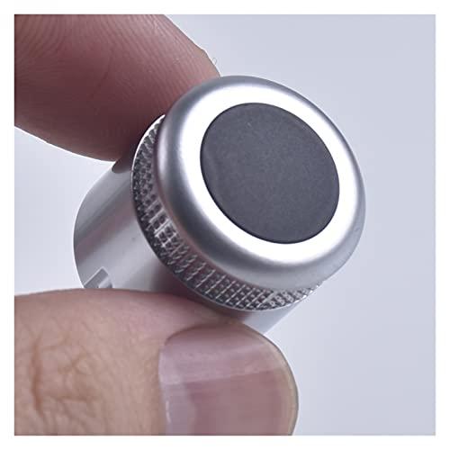 Impetuous Configuración del Interruptor de botón Giratorio del botón de Volumen de Radio CD Apto for Audi A6 C6 S6 Allroad 05-08 Q7 2007 2008 A8 S8