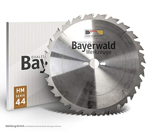 Bayerwald HM Kreissägeblatt - Ø 500 x 4 x 35 | Z=36 S-LWZ | Serie 11.44 - Für Holz Längsschnitt (Weichholz, Hartholz, Exotenholz, Furniere)