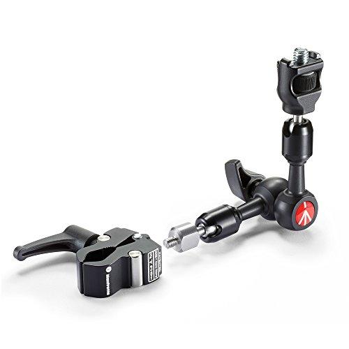 Manfrotto 244 Micro Friktionsarm Kit: & Verdrehschutz &  Nano Clamp