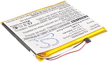 VINTRONS Rechargeable Battery 900mAh For Sony PRS-650, 1-853-016-11, LIS1459MHPC9SY6), PRS-650BC, PRS-650RC