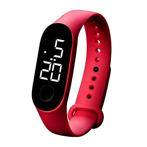 Coconano Reloj De Hombre Deportivo Reloj Deportivo Reloj Electrónico Led 50m Reloj De Moda Para Hombre y Mujer a Prueba De Agua