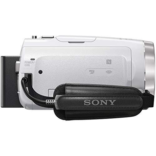 ソニービデオカメラHandycamHDR-CX680光学30倍内蔵メモリー64GBホワイトHDR-CX680W