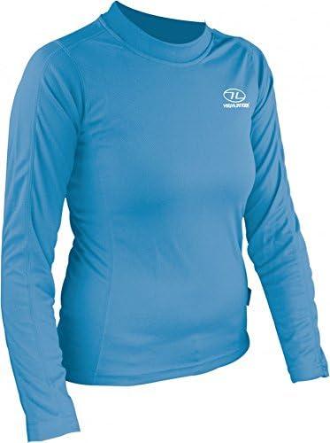 Highlander Womens Climate X Long Sleeved Tee Shirt Baselayer