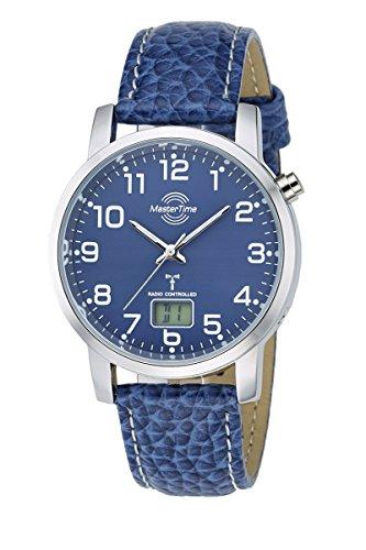 Master Time Funk Quarz Herren Uhr Analog-Digital mit Leder Armband MTGA-10493-32L