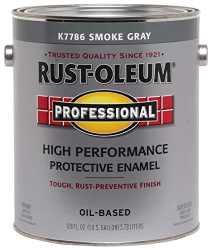 RUST-OLEUM K7786-402 K7786402 Enamel, Gray, 128 Fl Oz