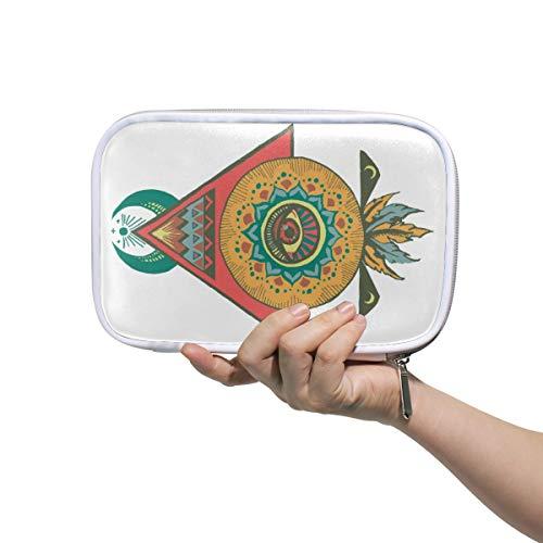 Smart Wetsuit Piramide Potlood Case Cosmetische Tas Grote Capaciteit Organizer Make-up Koppeling Tas voor Reizen School