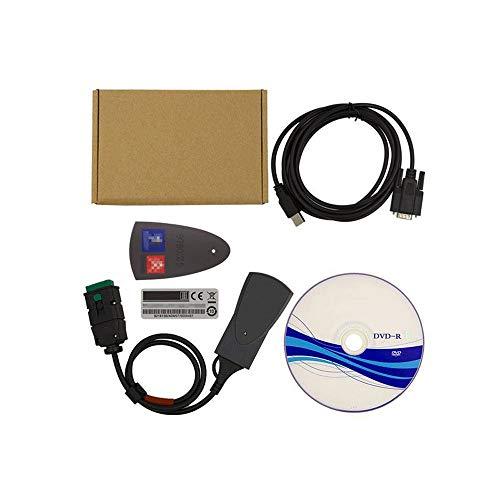 Puerto OBD-II,Gold BrightFootBook Diagnosis De Coche para Ordenador,Diagn/óstico OBD,Maquina Diagnosis Coche Multimarca Autocom,Herramientas de diagn/óstico del Sistema del Motor OBD-II