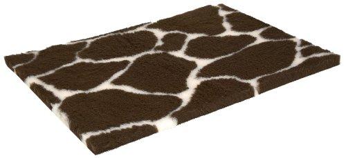 Vetbed Non-Slip Petlife Haustierbett für Hunde und Katzen, rutschfest, 102 x 76 cm, Giraffenmuster
