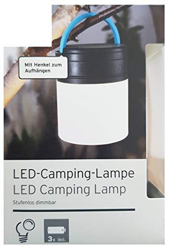 Tchibo TCM LED Campingleuchte Camping Zelten Lampe Leuchte dimmbar