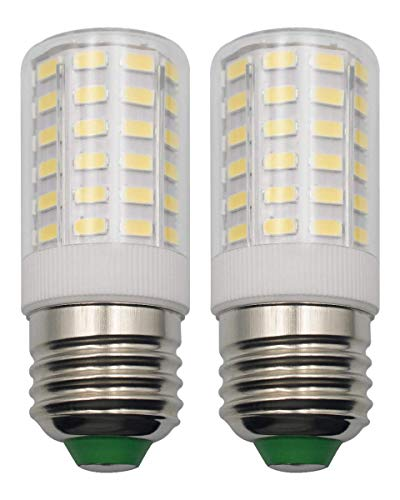 E26 7W LED Light Bulbs Home Lighting 100 Watt Equivalent Daylight White 6500k Eye Protect 85 CRI 950 Lumens 100-265 V Edison Candelabra E26/E27 Medium Screw Base Non-Dimmable - 2 Pack