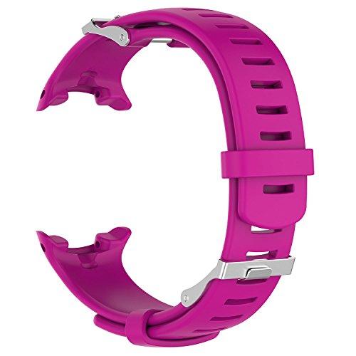 Hoopyeecase Reemplazo Correa Compatible para Suunto D4 / D4i Novo Diving Watch, Ajustable Accesorio A Prueba de Agua Silicona Deporte Moda Pulsera para Mujeres Hombres