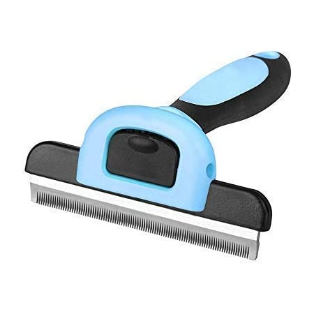 LUD PET Professional Grooming Tool, Deshedding Brush for Dogs and Cats, Best Grooming Brush Effectively Reduces Shedding by up to 95% pet Hair