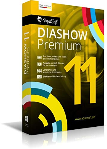 AquaSoft DiaShow 11 Premium|DVD|2|-|PC|Disc|Disc
